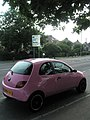 Pretty pink car in Bedhampton Road - geograph.org.uk - 836170.jpg