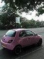 Pretty pink car in Bedhampton Road - geograph.org.uk - 836170.jpg