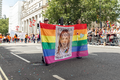 Pride in London 2016 - Chelsea Manning banner in the parade.png