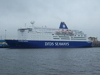MS <i>Princess Seaways</i> ship