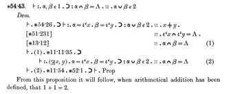 Principia Mathematica - Image: Principia Mathematica 54 43