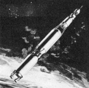 Saturn C-3 - Proposed Saturn C-3 and Apollo configuration (1962)