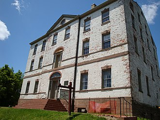William Franklin - Proprietary House in Perth Amboy, where Franklin lived as governor