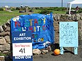 Publicity boards, Three Harbours Festival - geograph.org.uk - 829821.jpg
