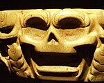 Puebla - Museo Amparo - «Boulet» autour du cou pour prisonniers (détail), Yugo totonaca en porfido feldespatico, Veracruz, 600-900 dC.JPG