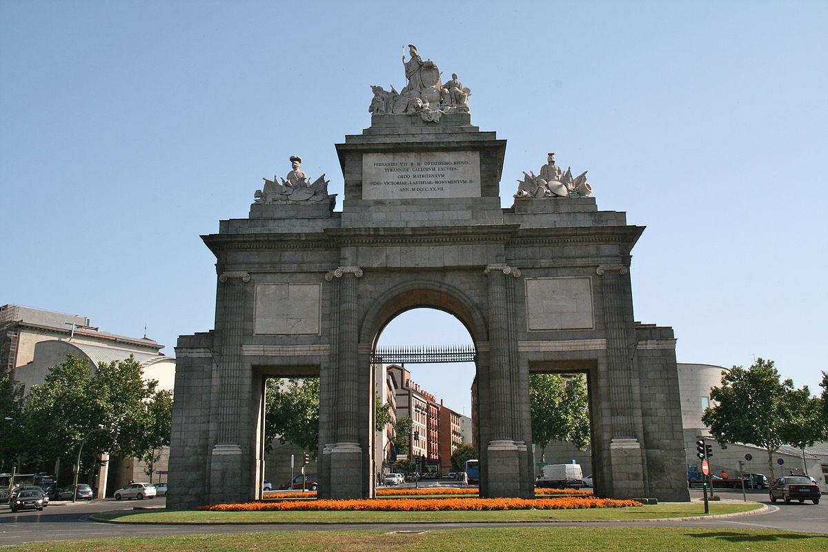 Puerta de toledo wikipedia la enciclopedia libre - Arquitectos famosos espanoles ...