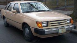 1984-1985 Ford Tempo sedan