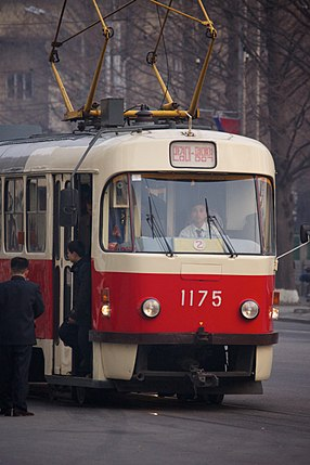 Pyongyang Tram (Tatra T3)