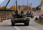 Pz 87 Leopard - Front 2 - Schweizer Armee - Steel Parade 2006