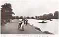 Queen's Promenade on the River Thames, Surbiton, Surrey, circa 1910.png