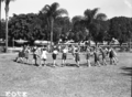 Queensland State Archives 1645 Milton State School physical education activity Brisbane April 1951.png