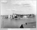 Queensland State Archives 3750 View across river showing progress on Kangaroo Point Brisbane 4 August 1938.png