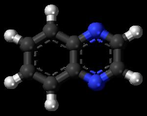 Quinoxaline - Image: Quinoxaline 3D balls 2