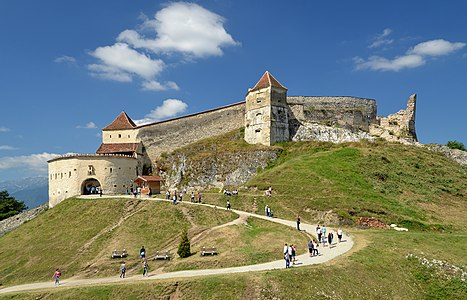 Râşnov Citadel, Romania
