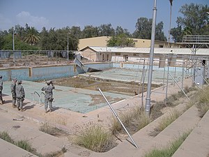 RAF Habbaniya - May 2007 view of the Habbaniyah Olympic pool