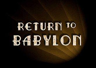 Return to Babylon - Image: RETURN TO BABYLON LOGO