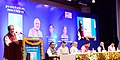 Radha Mohan Singh addressing the gathering at the presentation of the NDDB Dairy Excellence Awards, on the occasion of the foundation day of National Dairy Development Board, at Anand, in Gujarat.jpg