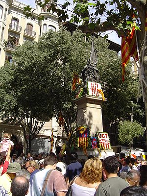 National symbols of Catalonia - National Day of Catalonia, 2005
