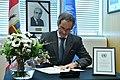 Rafael Mariano Grossi signs Book of Condolences (01313873) (49625519048).jpg
