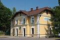 Railway Station in Zarszyn (Poland, August 2010).jpg