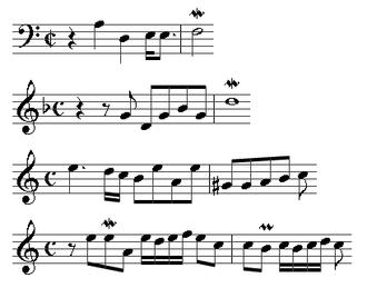 André Raison - A sample of fugal themes from Raison's Premier livre d'orgue (click the image for details)