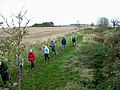 Rambling Club at East Wallhouses - geograph.org.uk - 1027232.jpg