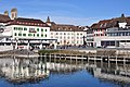 Rapperswil - Fischmarktplatz - Seedamm IMG 2239 ShiftN.jpg