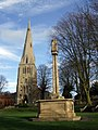 Raunds war memorial - geograph.org.uk - 1224361.jpg