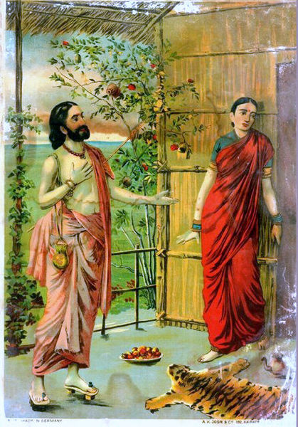 File:Ravana visits Sita as an ascetic.jpg