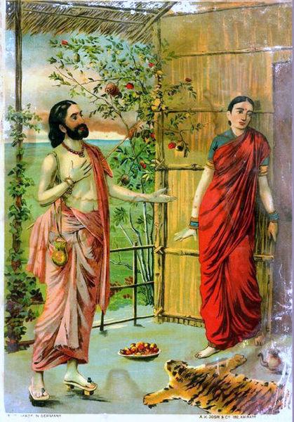 File:Ravana visits Sita as an ascetic.jpg