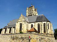 Ravenel (60), église Notre-Dame, vue depuis le sud-est 1.jpg