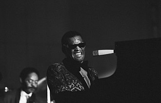 Rhythm and blues - Ray Charles in 1971. Photo: Heinrich Klaffs.