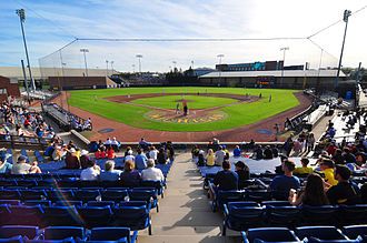 University of Michigan - Ray Fisher Stadium, home of the Michigan baseball team