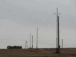 Reconstuction power line Bakhtay-Zakuley in Inkutsk region 07.JPG