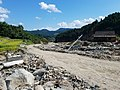 Recovery of roads to mountain villages in Asakura in September.jpg
