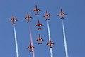 Red Arrows - RIAT 2005 (2575595337).jpg