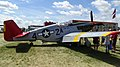 Red tail P-51 Mustang at Oshkosh Airventure 2013.jpg