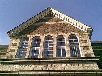 Redruth Grammar School - Former Grammar School in Redruth