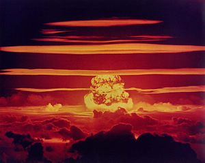Cold War - During the Cold War, the US conducted around 1,054 nuclear tests by official count, between 1945 and 1992;