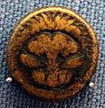 Reggio (calabria), aes 21, 400-387 ac ca., testa di leone.JPG