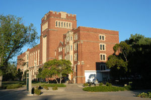 University of Regina - Regina College Building from west in 2010
