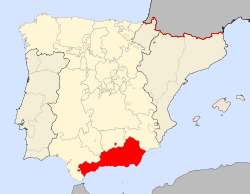 Location of Granada