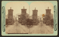 Remains at City gates, Exterior, St. Augustine, Fla, from Robert N. Dennis collection of stereoscopic views.png