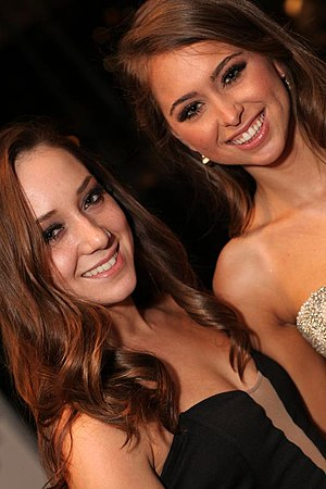 Remy LaCroix - LaCroix with Riley Reid (right), her former co-star and joint winner for several awards in 2013 and 2014