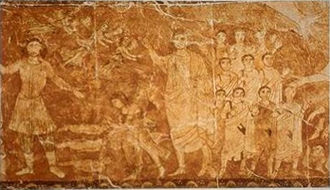 Jewish eschatology - Resurrection of the dead, fresco from the Dura-Europos synagogue