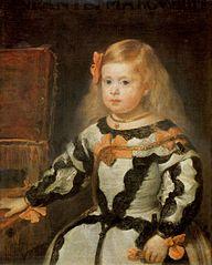 Porträt der Infantin Maria Margarita, Tochter Philipps IV