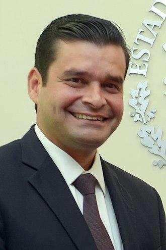 Governor of Nayarit - Image: Reunión con el Gobernador Electo de Nayarit 1 (cropped)