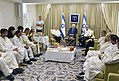 Reuven Rivlin host members of the Honey and Beekeeping Council at the Rosh Hashanah meeting, September 2017 (5620).jpg