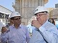 Reuven Rivlin in a visit at IDE - Sorek Desalination Plant (6453).jpg