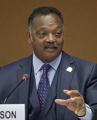 Shadow congressperson - Image: Reverend Jesse Jackson speaking at the UN crop